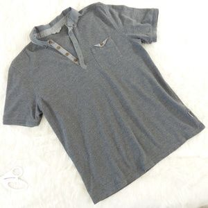Ted Baker Gray Polo Style Shirt